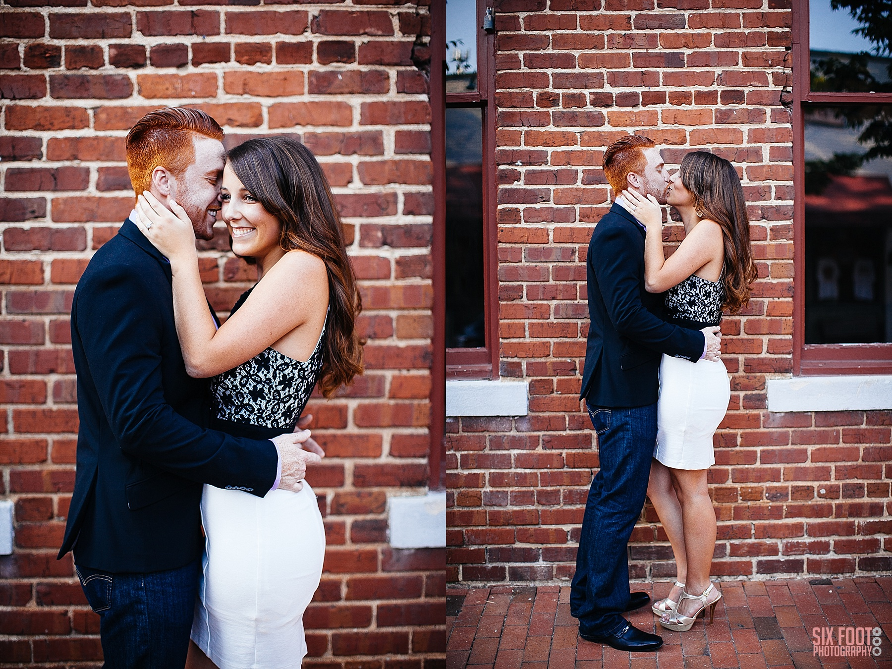downtown raleigh engagement