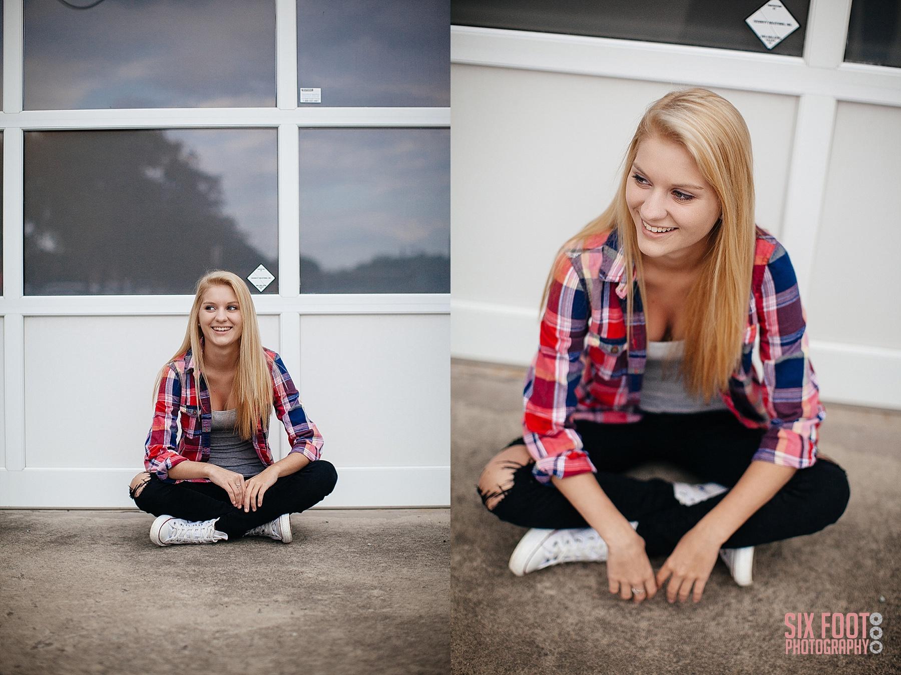 cary high school senior photographer