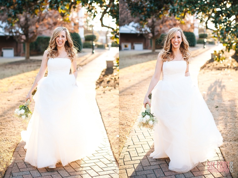 wake forest wedding photographer