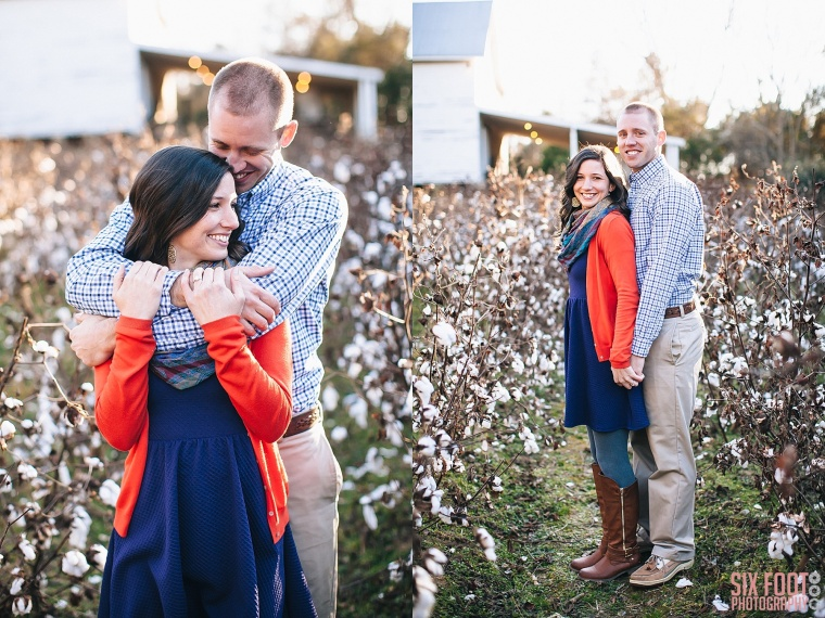 historic oak view county park engagement